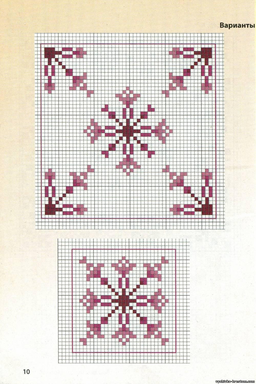 Символы и приметы в вышивке крестом - Мегавышивка 57